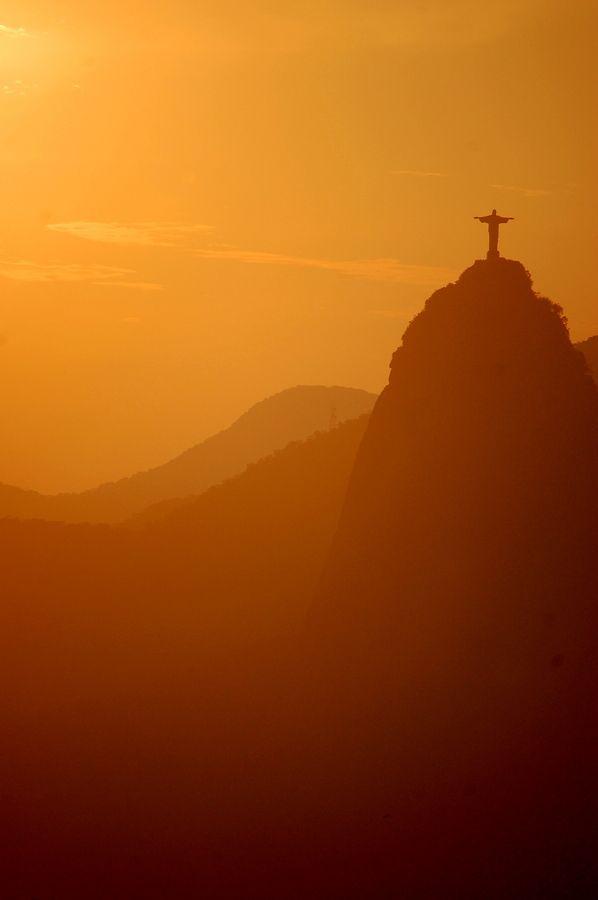 Corcovado Sunset, Rio de Janeiro