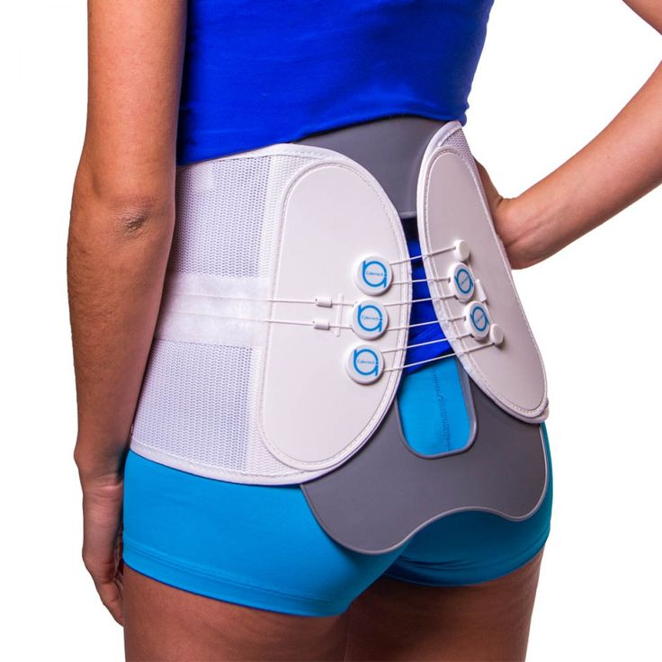 MAC Plus Lumbar Spine Decompression Back Brace - The compression and support provided by the pulley system of this lumbar back belt makes it a great solution for non-surgical spinal decompression. It can also help with many sources of chronic low back pain, such as bulging or herniated discs, sciatica, spondylolisthesis, or a compression fracture of the spine. | BraceAbility