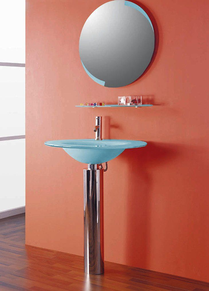 Steen Contemporary Pedestal Vanity Set VS0113 by