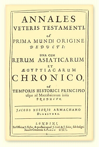 James Ussher : Annals of the World - From Creation to A.D.70 (1650) Free Online Books @ PreteristArchive.com, The Internet's Only Balanced Look at Preterism and Preterist Eschatology