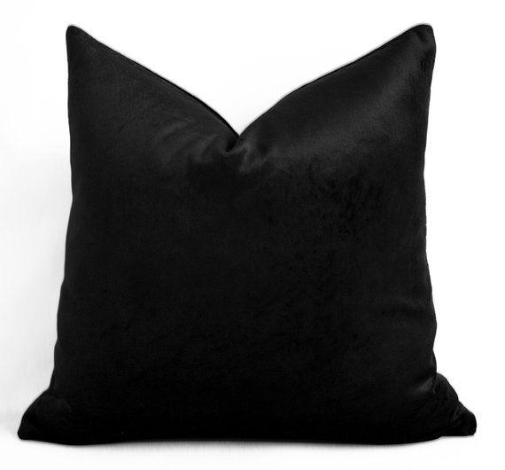 black velvet cushion decorative pillows