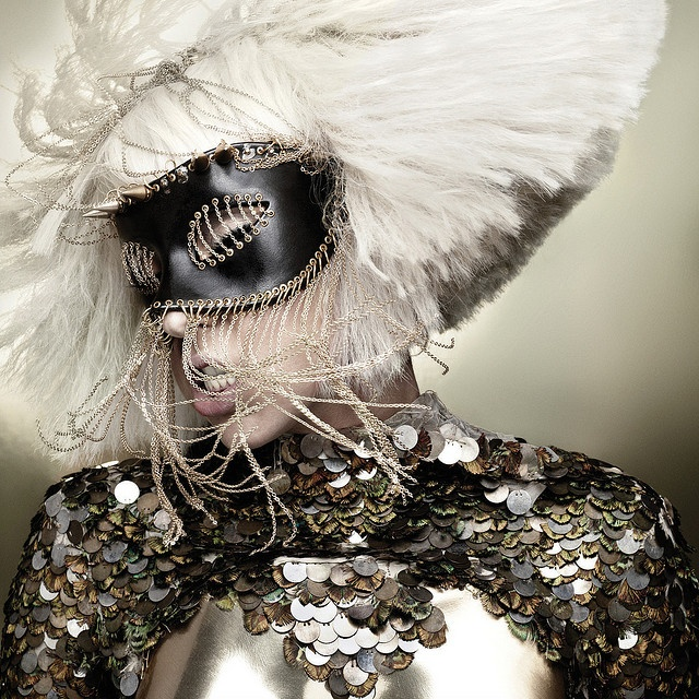 "Lady GaGa. Artwork from ""The Fame Monster"" Album."