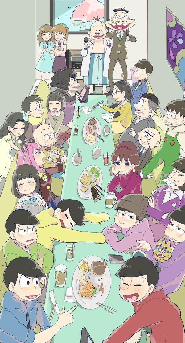 埋め込み画像 // Well look how happy Jyuushi is, surrounded by his brothers and people he knows AND Homura 💖