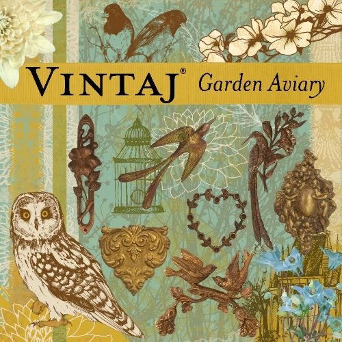 Garden Aviary Digikit at DaisyTrail.com: Warm woodland tones and beautiful birds adorn this kit, inspired by lush garden aviaries.