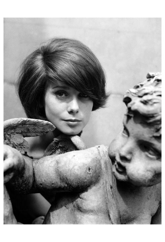 Peter Basch. Catherine Deneuve. 1960