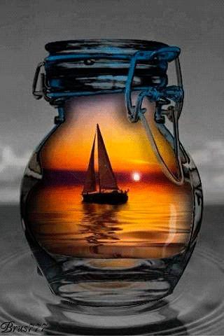 Sunset (GIF) ❤