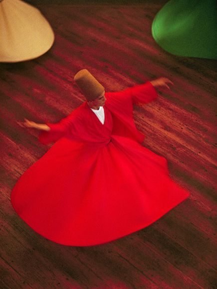 Whirling dervish by Reza,