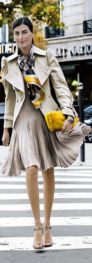 street style | trench!