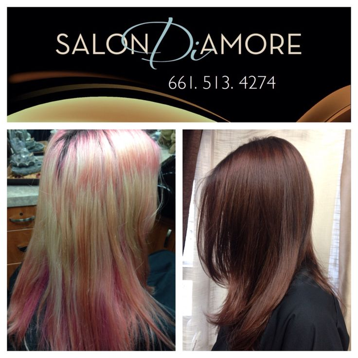 Corrective Color by SalonDiAmore #color #colorist #haircolor #brunette #brownhair #correctivecolor #haircolor