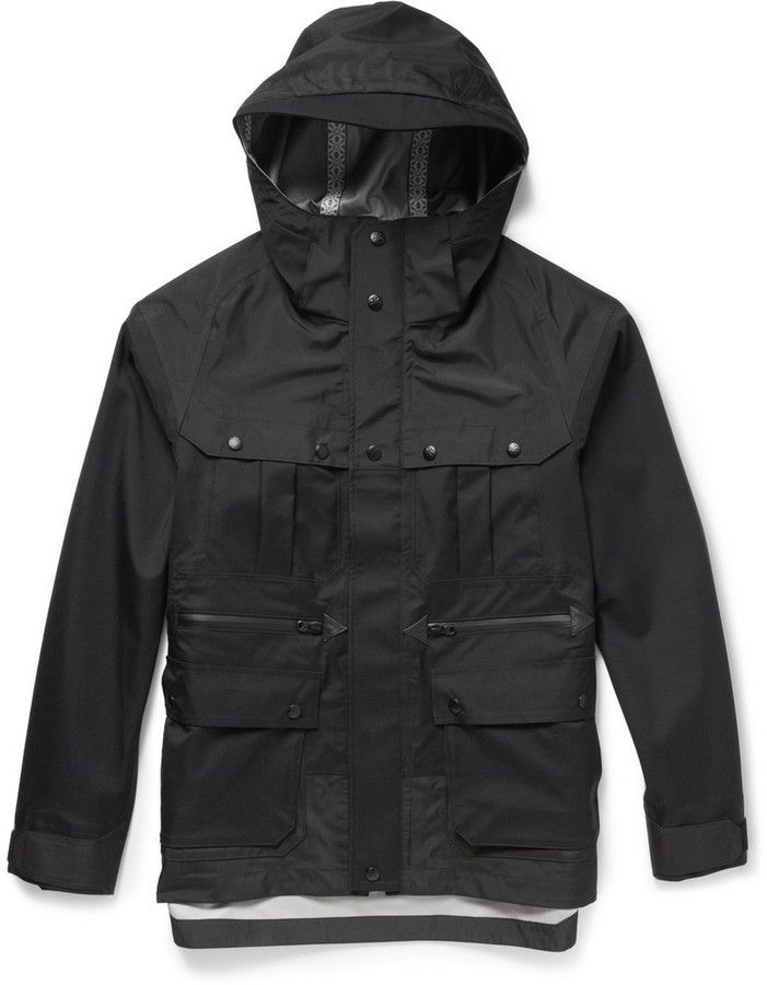 White Mountaineering Waterproof Gortex Hooded Jacket on shopstyle.com
