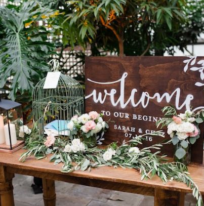 featured photographer asya photography wedding reception sign idea this article was produced in