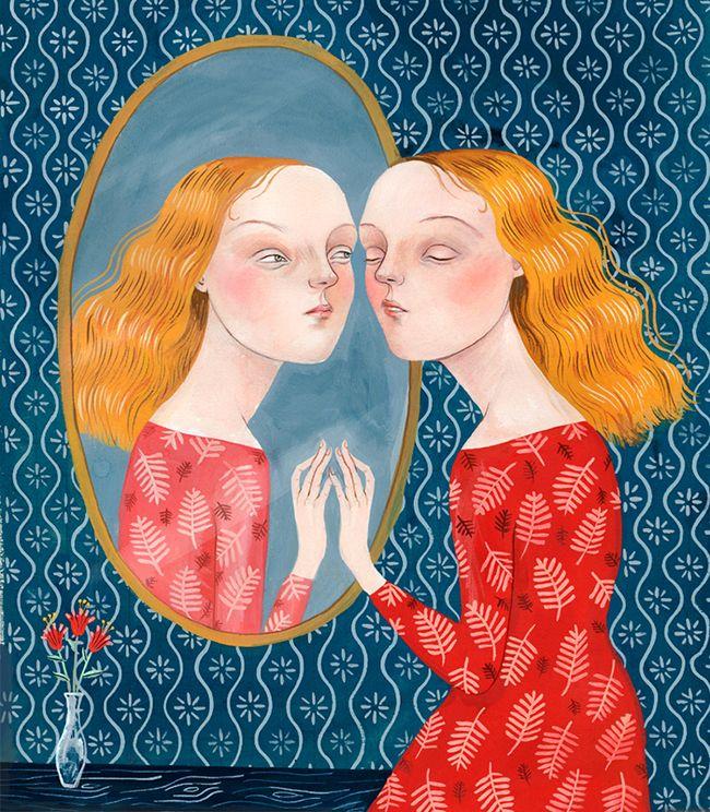 helena+perez+garcia+illustration+6+mirror+gouache+pattern