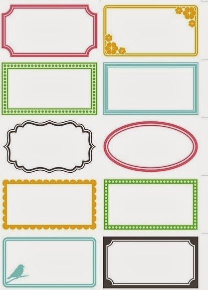 23 best Address labels free address label templates images on - free address label templates