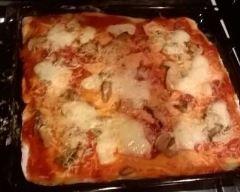 Pâte à pizza italienne croustillante