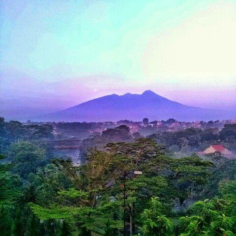 Salak Mountain, Bogor, Indonesia