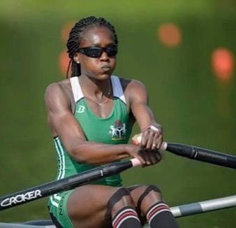 CHIERIKA UKOGU #Nigeria 's first ever rower at the #olympics just made it to the #semi 's. Remember the name #rioolympics2016 #instasports #teamnigeria #steevane #sv