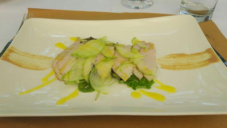 Ristorante Borgo Colmello: filetto di maiale con verdure crude