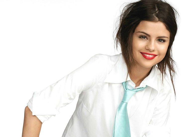 Selena Gomez Red Lips HD Wallpapers Desktop Background