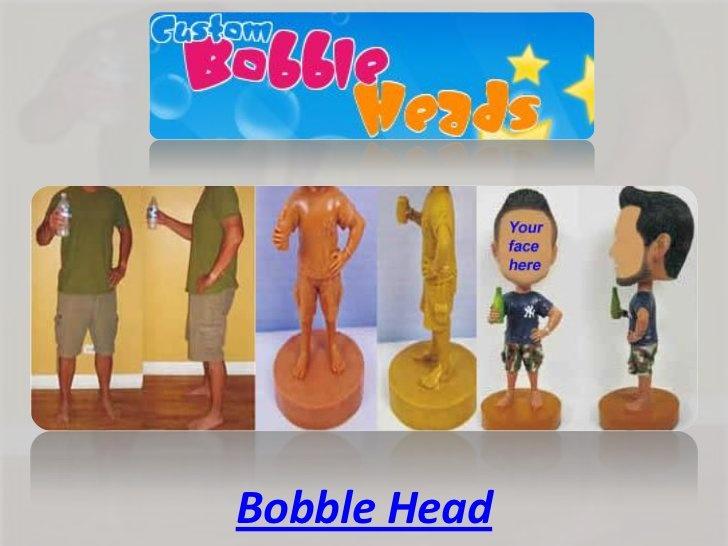 Bobble head by BobbleHeadx, via Slideshare