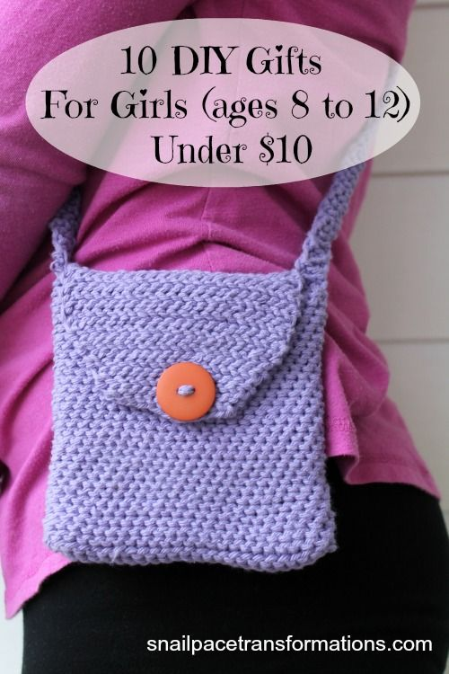 10 DIY Gifts For Girls (Ages 8 to 12) Under $10 | Homemade ...