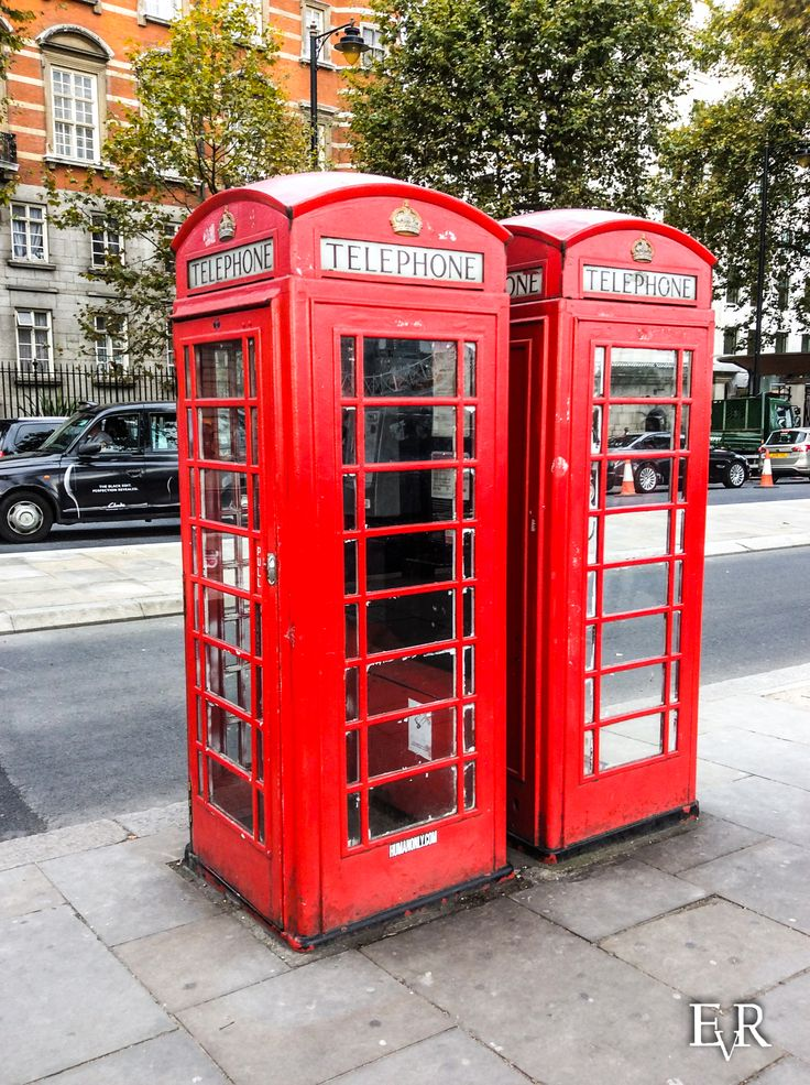 EVR Photography -  Telephone Cell, London, England