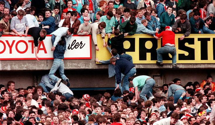The Hillsborough disaster, where 96 people lost their lives and 766 were injured on 15th April 1989 at the Hillsborough stadium in Sheffield during the FA cup tie between Liverpool and Nottingham forest, all of the fans who died were fans of Liverpool Football Club.The Hillsborough disaster remains the deadliest stadium-related disaster in British history and one of the worst ever international football accidents.