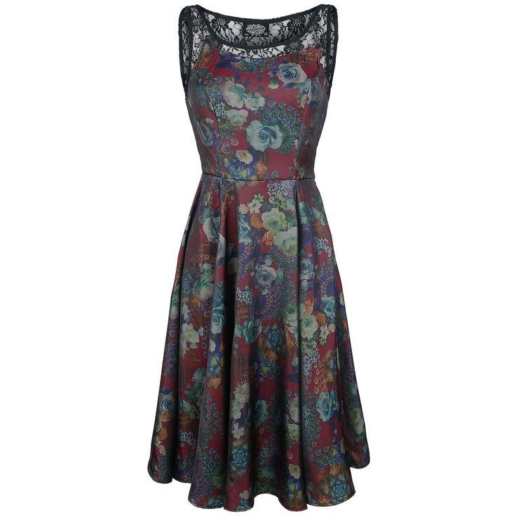 "Abito ""Lipsy Floral Printed Swing Dress"" del brand #H&RLondon."