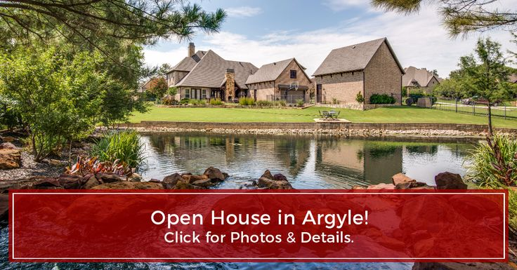 Luxury Home for sale in Argyle, TX in walking distance to Liberty Cristian