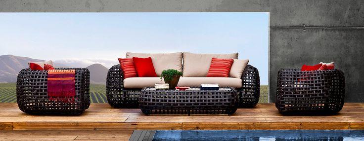 Умопомрачительная мебель для использования дома и на улице от Kenneth Cobonpue