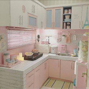 desain dapur shabby chic terbaru | desain, rumah, desain rumah