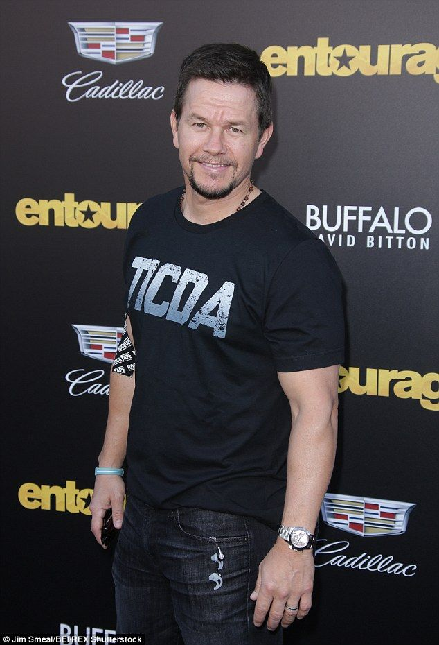 Performing: Mark Wahlberg is also on the bill...