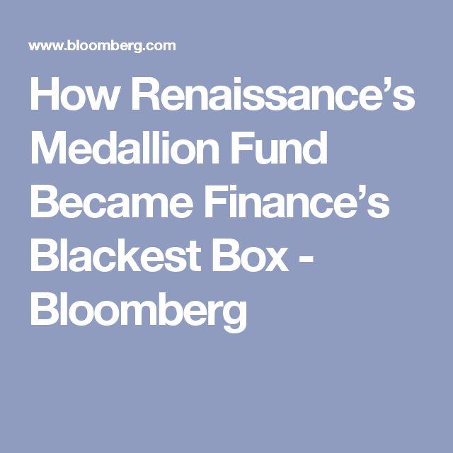 How Renaissance's Medallion Fund Became Finance's Blackest Box - Bloomberg