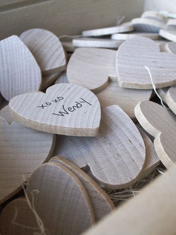 Wooden Keepsake Box & Personalized Heart by UrbanCollective, $62.00