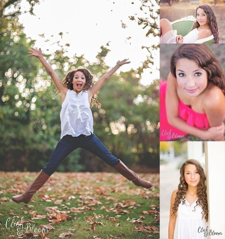 click and bloom photography - preteen - teen - poses