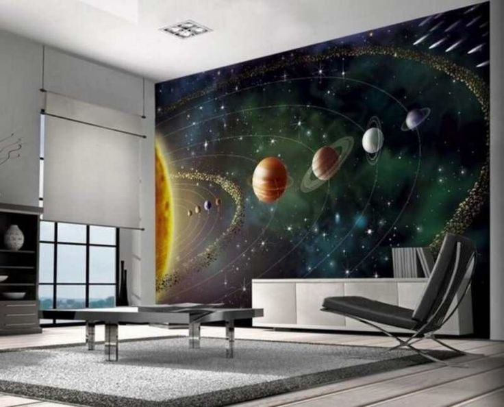 Space PhotoWallpaper Dimensions: 2,32 x 3,15 Meter Special Price: 45,00 €