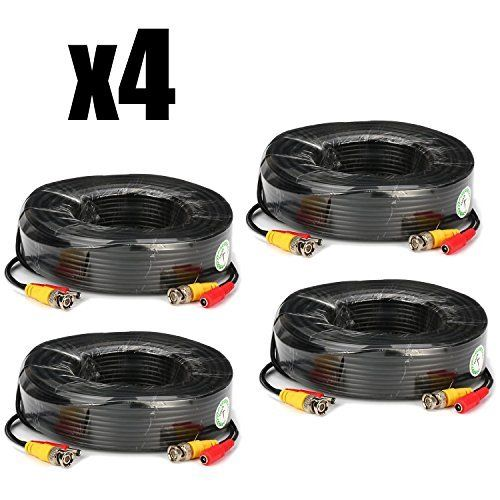KARE 4x 30M BNC Video Power Cable For CCTV Camera DVR Security System Kit No description (Barcode EAN = 0712319560907). http://www.comparestoreprices.co.uk/december-2016-3/kare-4x-30m-bnc-video-power-cable-for-cctv-camera-dvr-security-system-kit.asp