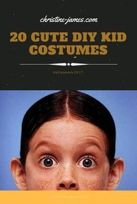 20 Cute Costumes you can DIY, perfect for infants, toddlers, and children. Save money, reuse clothing when you can, and fun crafts to do with your kids while you prepare the costume! christine-james.com (scheduled via http://www.tailwindapp.com?utm_source