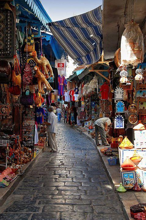 Street market, Tunisia