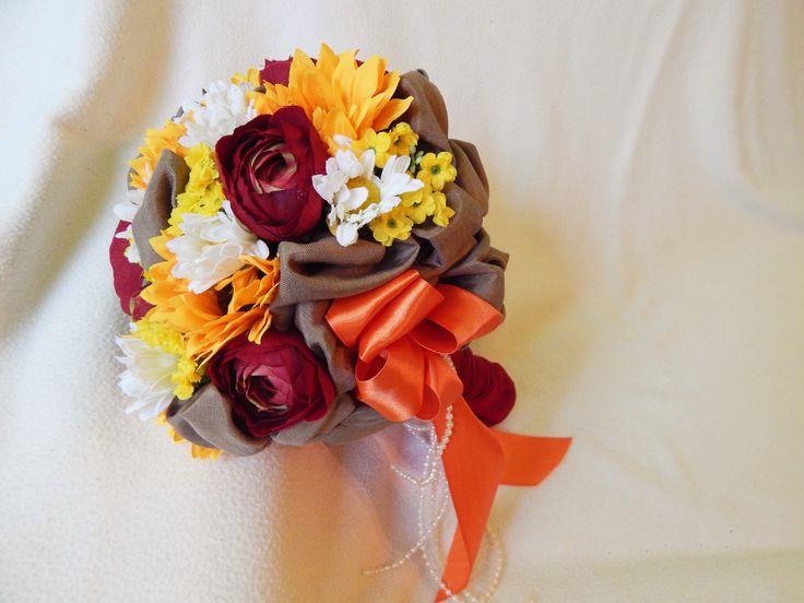 Beautiful unique handmade wedding bouquet US$51.29