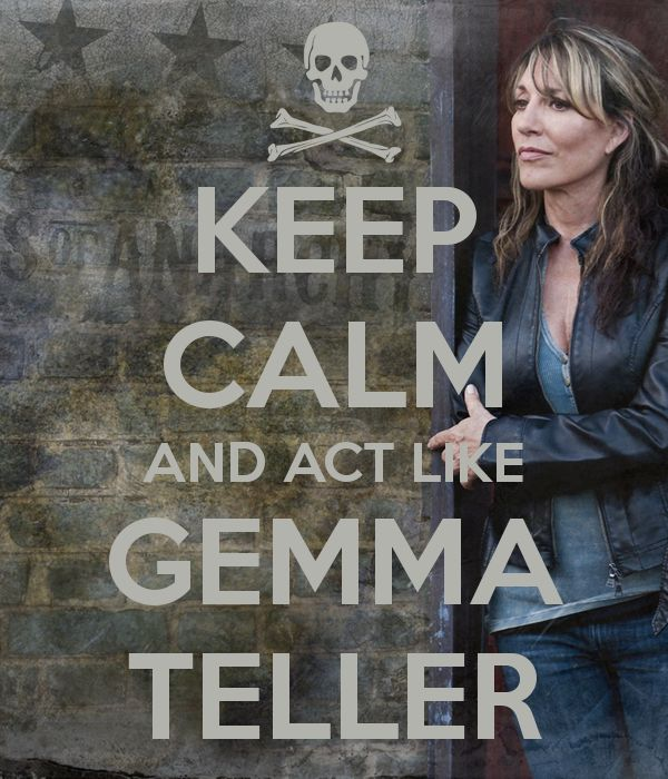 Sons of Anarchy's Queen of Charming...Gemma Teller Morrow!