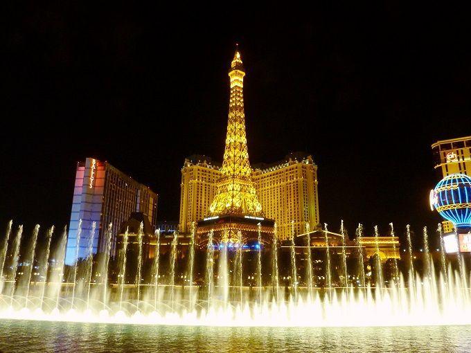米国ラスベガスのホテル「パリス」にて。Paris Hotel in Las Vegas, USA.