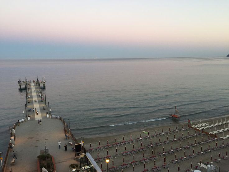Panaroma from Hotel Ligure