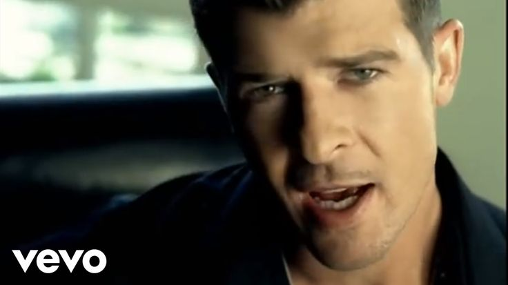 Music video by Robin Thicke performing Lost Without U. (C) 2006 Interscope Records