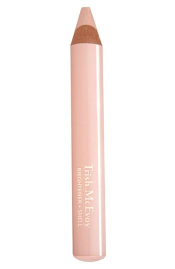 Under eye circles and blemishes vanish with this stuff. Don't let the drastic color fool ya... goes on sheer and lifts dark spots.