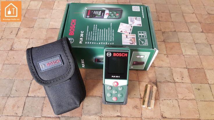 Test : télémètre laser PLR 30C de Bosch