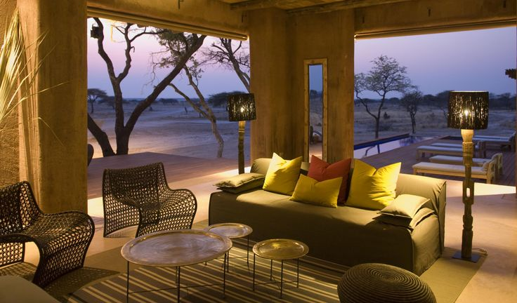 The lounge at The Fort, sheer luxury.