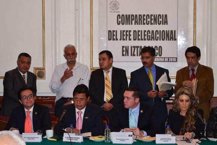 Carlos Estrada compareció ante la  Comisión de Administración Pública Local