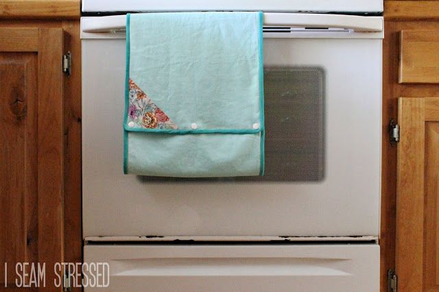 i seam stressed: Continuous Towel // Weekly Pin Project 4