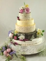 Cheese Wedding Cake Or Tower To Feed Mixed Z Bottom Diameter This Is Kg So Will Guests