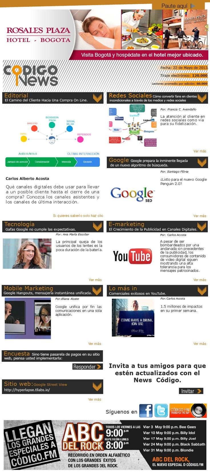Lo último en e-mailing, redes, mobile marketing y tecnología con nuestro news #66